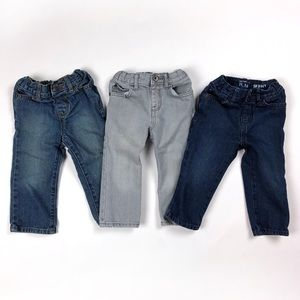 Childrens Place skinny/straight jeans - 3 pairs